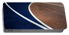 Art On The Basketball Court  11 Portable Battery Charger