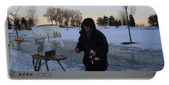Artist At Work Lake Shore Mississauga On Portable Battery Charger