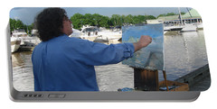 Artist At Work Port Credit Mississauga On Portable Battery Charger