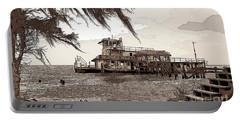 Tugboat From Louisiana Katrina Portable Battery Charger