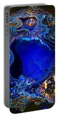 Artists Bisbee Velvet Beauty Azurite Portable Battery Charger
