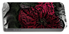 Artsy Petunias Portable Battery Charger