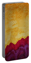 Ascension Original Painting Portable Battery Charger by Sol Luckman