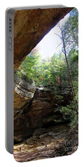 Ash Cave Of The Hocking Hills Portable Battery Charger