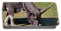 Asian Water Buffalo  Portable Battery Charger