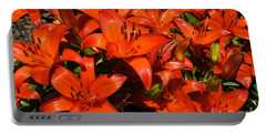 Portable Battery Charger featuring the photograph Asiatic Lily by Sue Smith