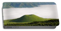 Portable Battery Charger featuring the photograph Aso Komezuka Sea Of Clouds Cloud Kumamoto Japan by Paul Fearn