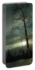 Aspen In Moonlight Portable Battery Charger