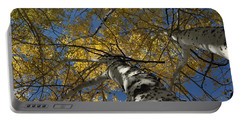 Fall Aspen Portable Battery Charger