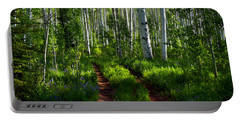 Aspen Lane Portable Battery Charger by Jeremy Rhoades
