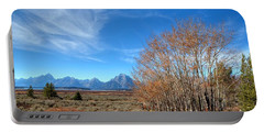 Portable Battery Charger featuring the photograph Aspen Last Stand  by David Andersen