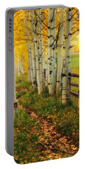 Aspen Path Portable Battery Charger by Ronda Kimbrow