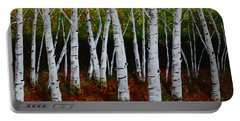 Aspens In Fall 2 Portable Battery Charger by Melvin Turner