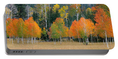 Aspens And Meadow-pan Portable Battery Charger