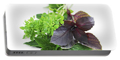 Assorted Basil Herbs Portable Battery Charger
