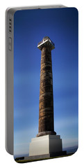 Portable Battery Charger featuring the photograph Astoria Column 1926 by Aaron Berg