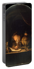 Astronomer By Candlelight Portable Battery Charger