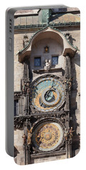 Astronomical Clock At The Old Town Portable Battery Charger