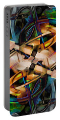 Asturias In G Minor Abstract Portable Battery Charger