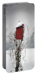 At Home In The Snow Portable Battery Charger