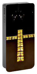 Portable Battery Charger featuring the photograph At The Cross by Deena Stoddard