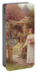 At The Garden Gate Portable Battery Charger