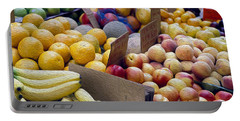 At The Market Portable Battery Charger by Jon Neidert