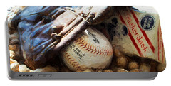 At The Old Ball Game Portable Battery Charger
