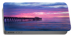 Myrtle Beach State Park Pier Sunrise Portable Battery Charger