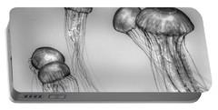 Atlantic Jellyfish - California Monterey Bay Aquarium Portable Battery Charger
