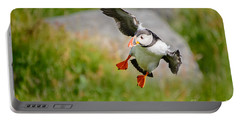 Atlantic Puffin, Incoming.... Portable Battery Charger