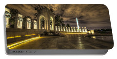 Atlantic Side Of The World War II Memorial Portable Battery Charger