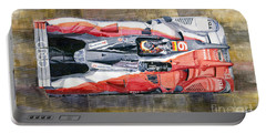 Audi R15 Tdi Le Mans 24 Hours 2010 Winner  Portable Battery Charger