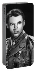 Audie Murphy Portable Battery Charger by Peter Piatt