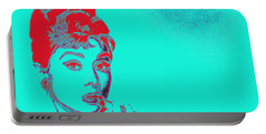 Audrey Hepburn 20130330v2p128 Portable Battery Charger