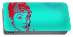 Audrey Hepburn 20130330v2p128 Portable Battery Charger