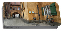 Portable Battery Charger featuring the photograph Augsburg Germany by Paul Fearn