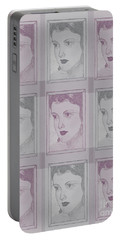Aunt Edie Print Portable Battery Charger