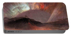 Aurora Borealis By Frederick Edwin Church Portable Battery Charger