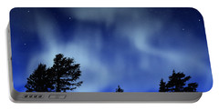 Aurora Borealis Wall Mural Portable Battery Charger