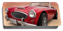 Austin Healey Portable Battery Charger by Douglas Pittman