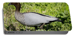 Australian Wood Duck Portable Battery Charger