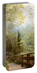 Austrian Woodland Trail And Mountain View Portable Battery Charger