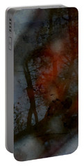 Autumn Abstract Portable Battery Charger by Photographic Arts And Design Studio