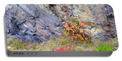 Autumn And Rocks Portable Battery Charger