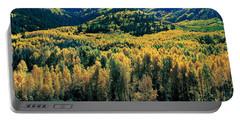Autumn Aspens, Colorado, Usa Portable Battery Charger