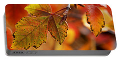 #autumn Portable Battery Charger by Becky Furgason