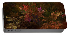 Portable Battery Charger featuring the digital art Autumn Bouquet by Olga Hamilton