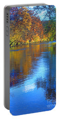Autumn Brandywine River  Portable Battery Charger