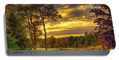 Autumn Colors Portable Battery Charger by Fred Larson